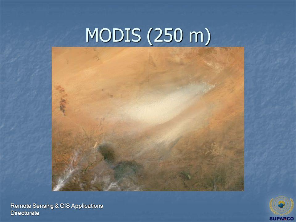 Remote Sensing & GIS Applications Directorate MODIS (250 m)