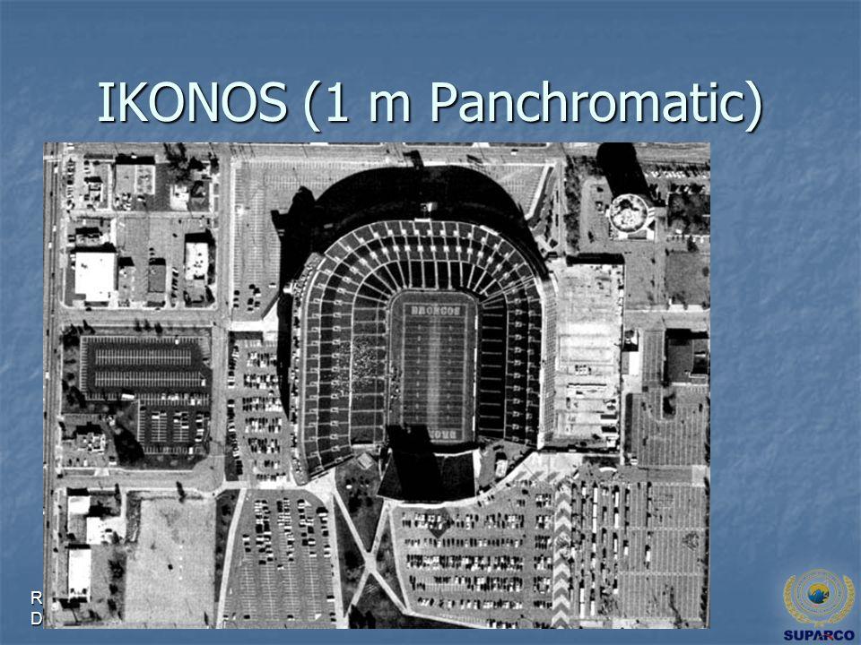 Remote Sensing & GIS Applications Directorate IKONOS (1 m Panchromatic)