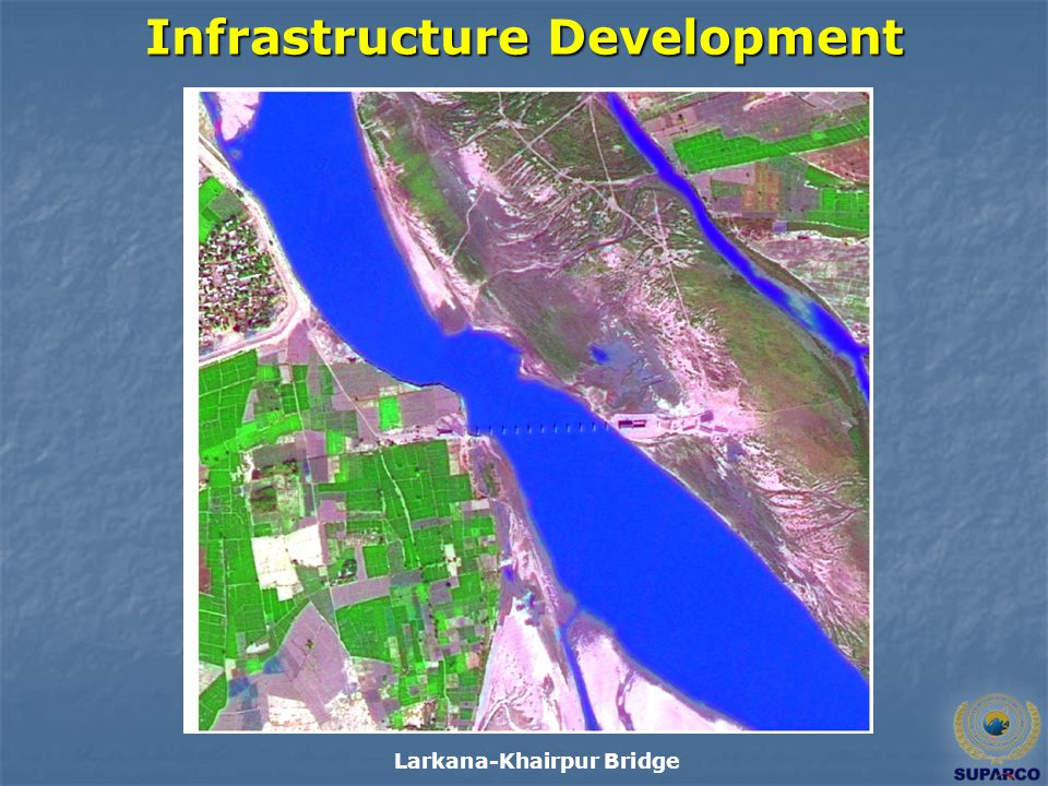 Infrastructure Development Larkana-Khairpur Bridge