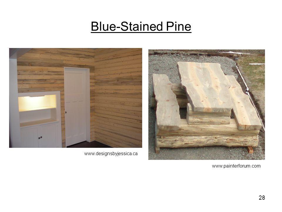 Blue-Stained Pine 28 www.designsbyjessica.ca www.painterforum.com