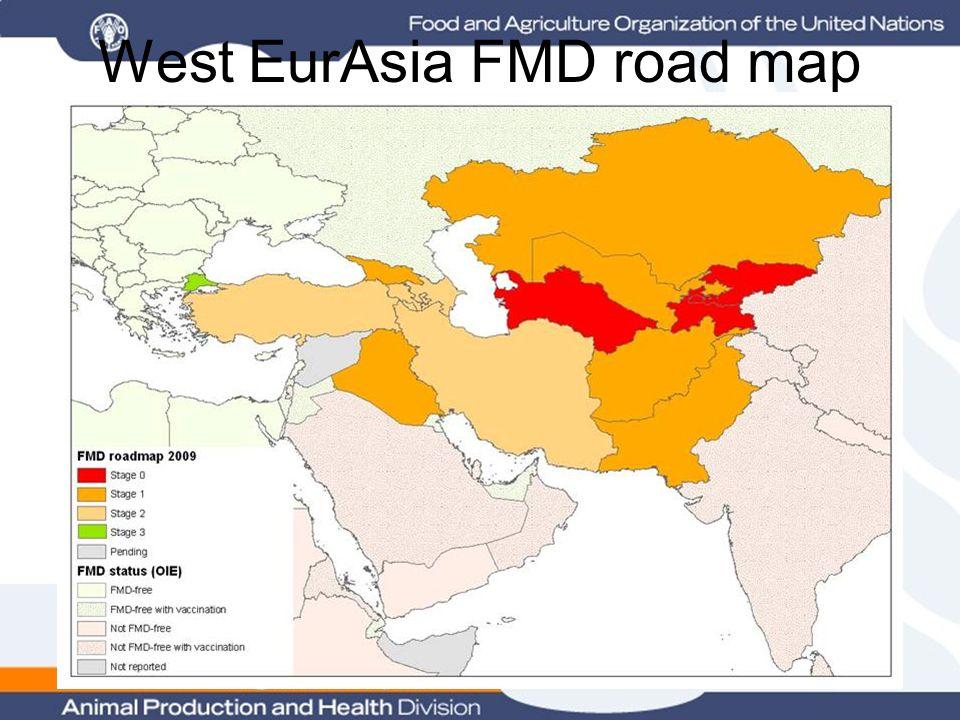 West EurAsia FMD road map