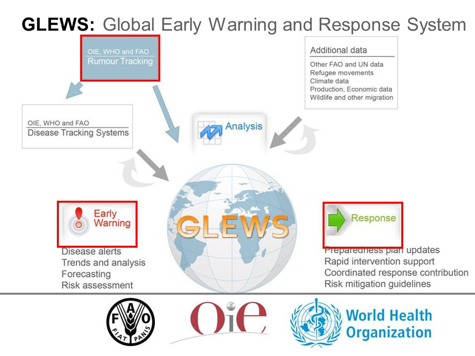 GLEWS: Global Early Warning and Response System