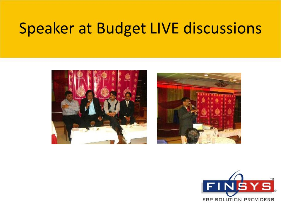 © 2007 Grant Thornton India Pvt. Ltd. All rights reserved. 13 Speaker at Budget LIVE discussions