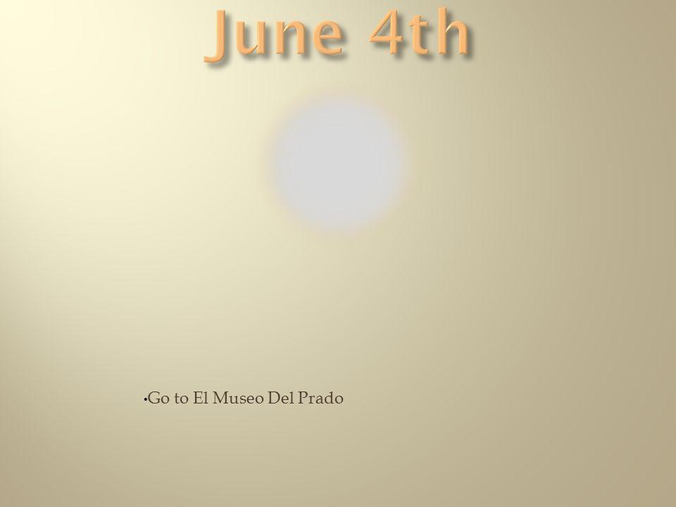 Go to El Museo Del Prado