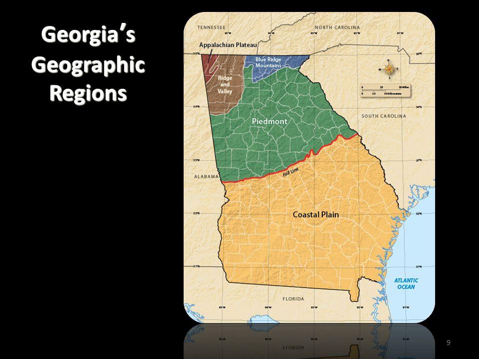 Georgia's Geographic Regions 9