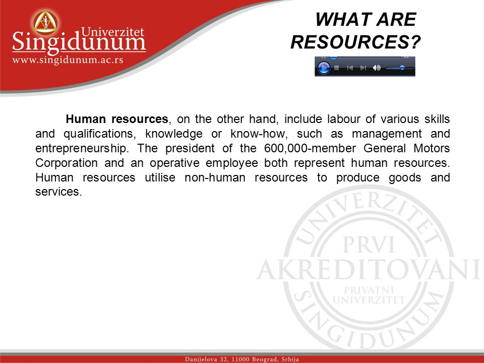 WHAT ARE RESOURCES. _str.
