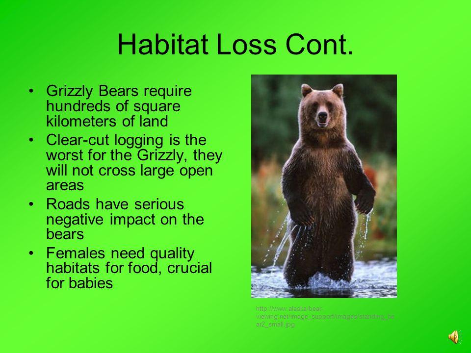 Habitat Loss Cont.