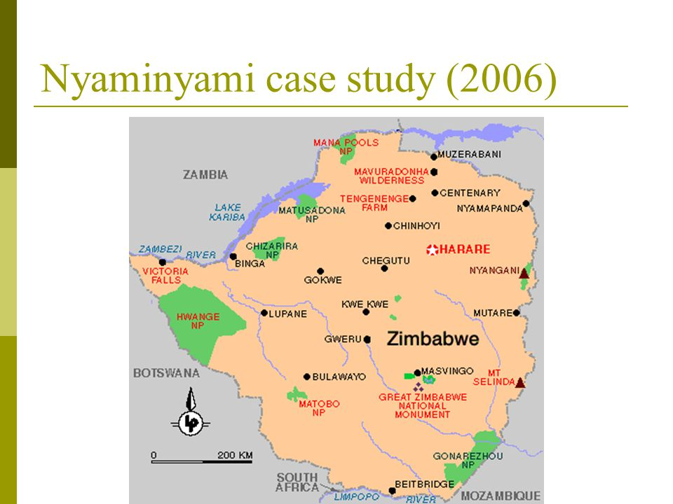 Nyaminyami case study (2006)