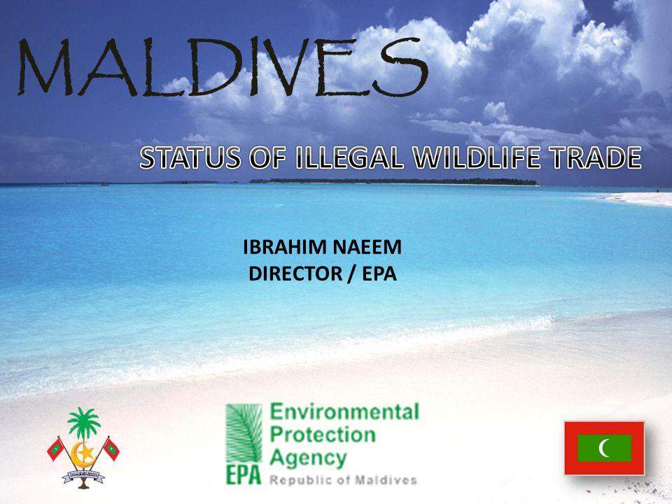 MALDIVES IBRAHIM NAEEM DIRECTOR / EPA