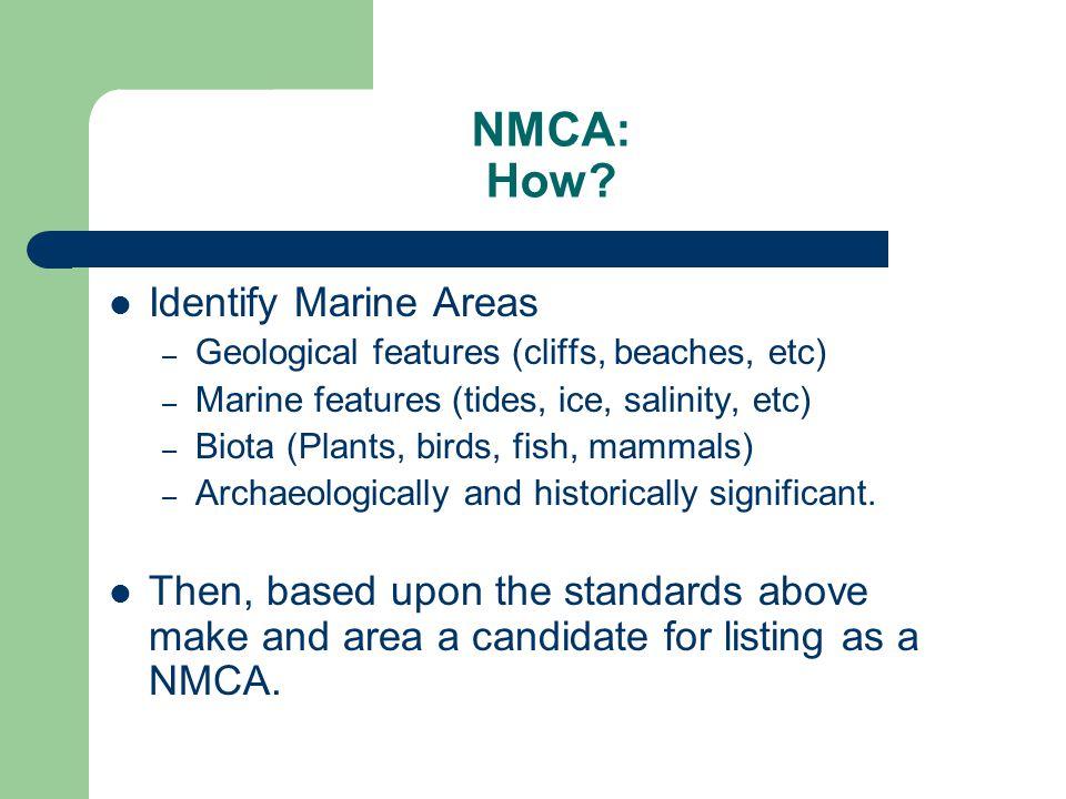NMCA: How.