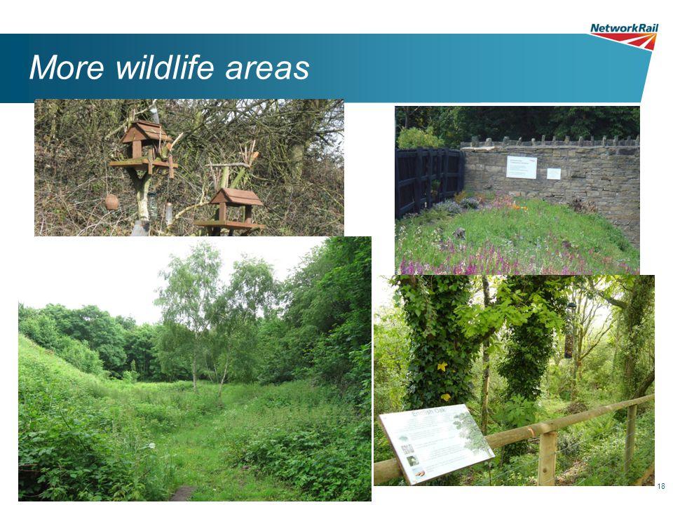 18 More wildlife areas