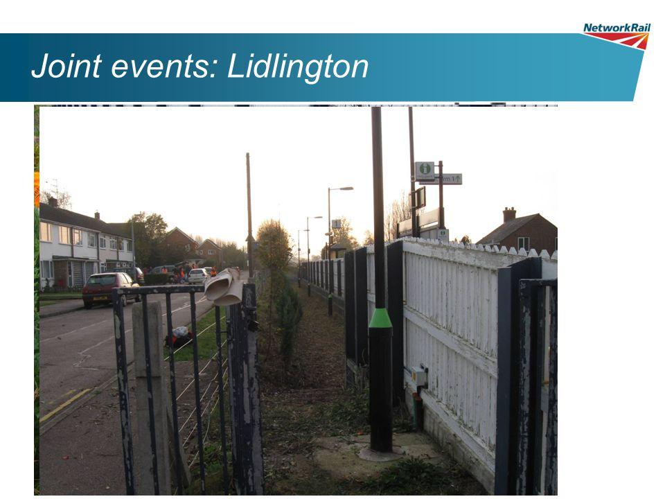 Joint events: Lidlington