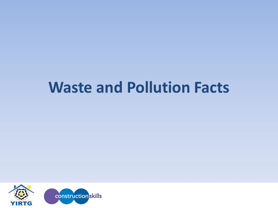 Waste and Pollution Facts