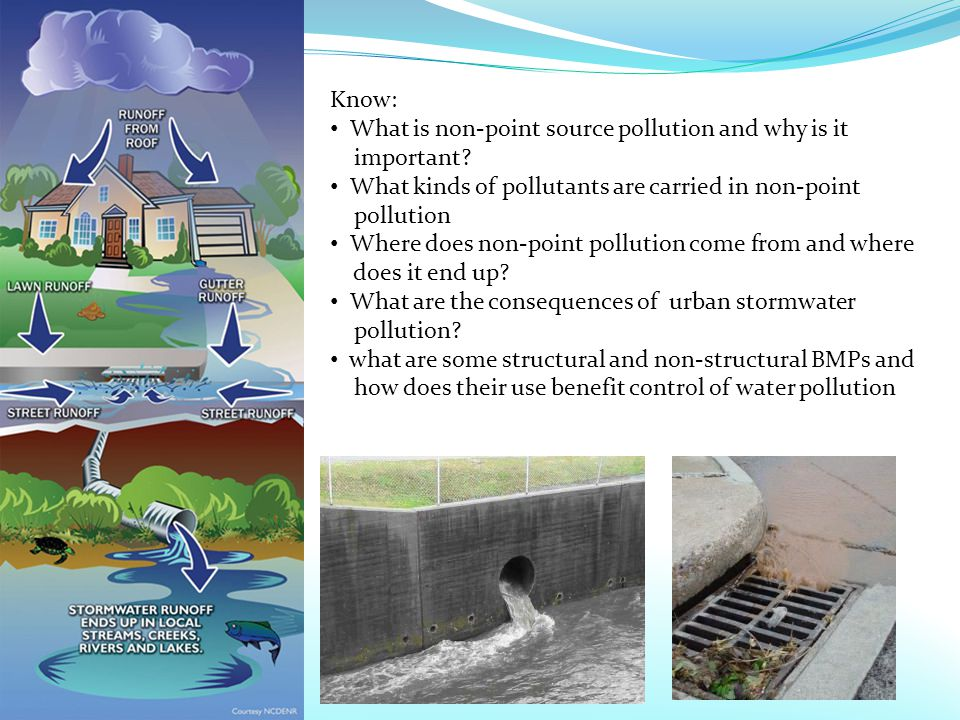 Know: What is non-point source pollution and why is it important.