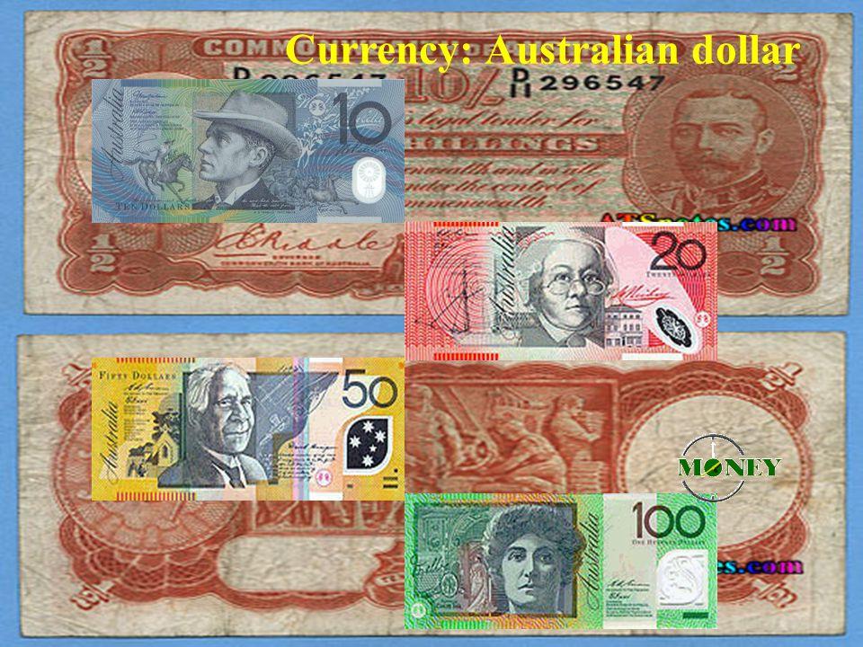 Currency: Australian dollar