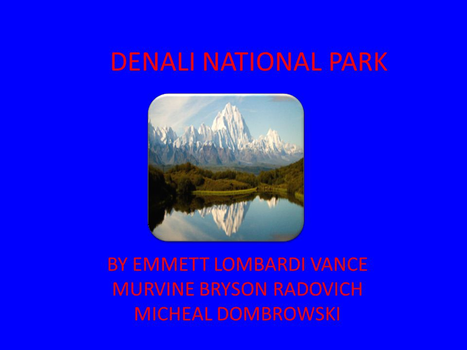 Map and Facts Denali is located in Alaska It has 6,000,000 acres of wildlife land 400,000 people visit Denali each year It is larger than the state of Massachusetts The best time to go to Denali is in the summer around June and July because in the winter the whether is to saver and to cold So come and maybe you can make it 500,000 each year.