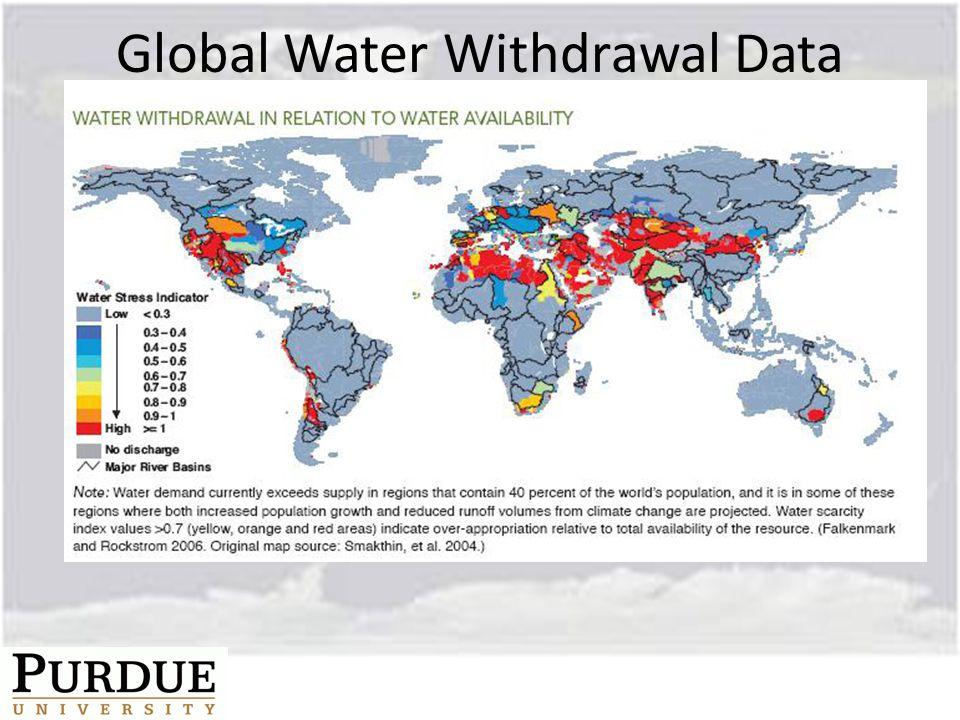 Global Water Withdrawal Data