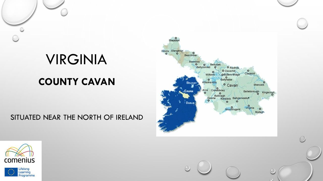 VIRGINIA COUNTY CAVAN SITUATED NEAR THE NORTH OF IRELAND
