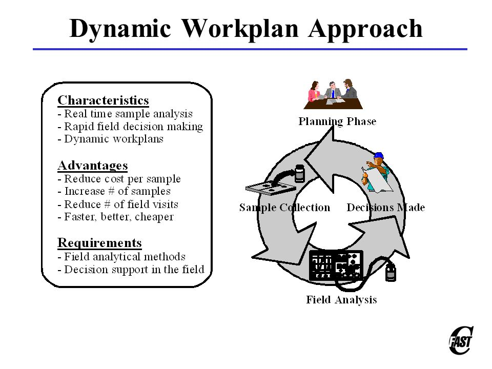 Dynamic Workplan Approach