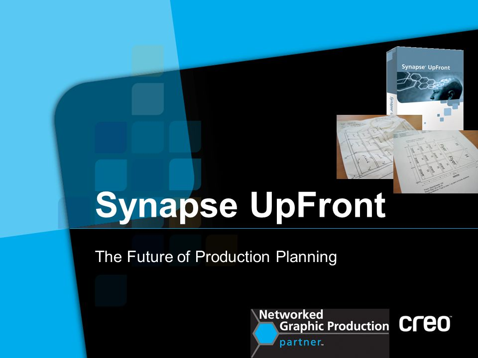 Synapse UpFront The Future of Production Planning