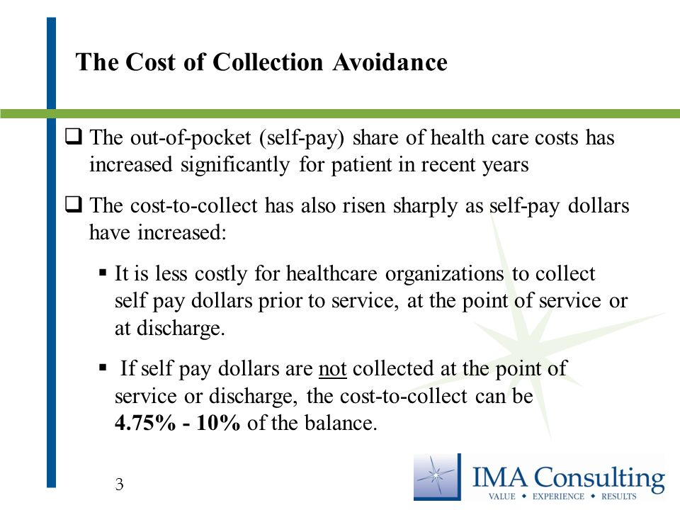 Financial Policies Financial Practices policies of healthcare organizations should clearly state that:  Payment is expected on the date of service  Emergency care will be provided without regard to a patient's ability to pay and  Financial assistance is available for those who cannot afford services Setting Expectations 14