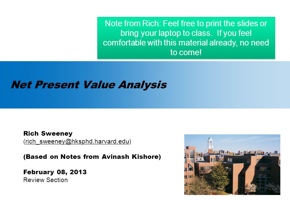 Agenda  Fundamental Theories of Welfare Economics  Static Efficiency vs.