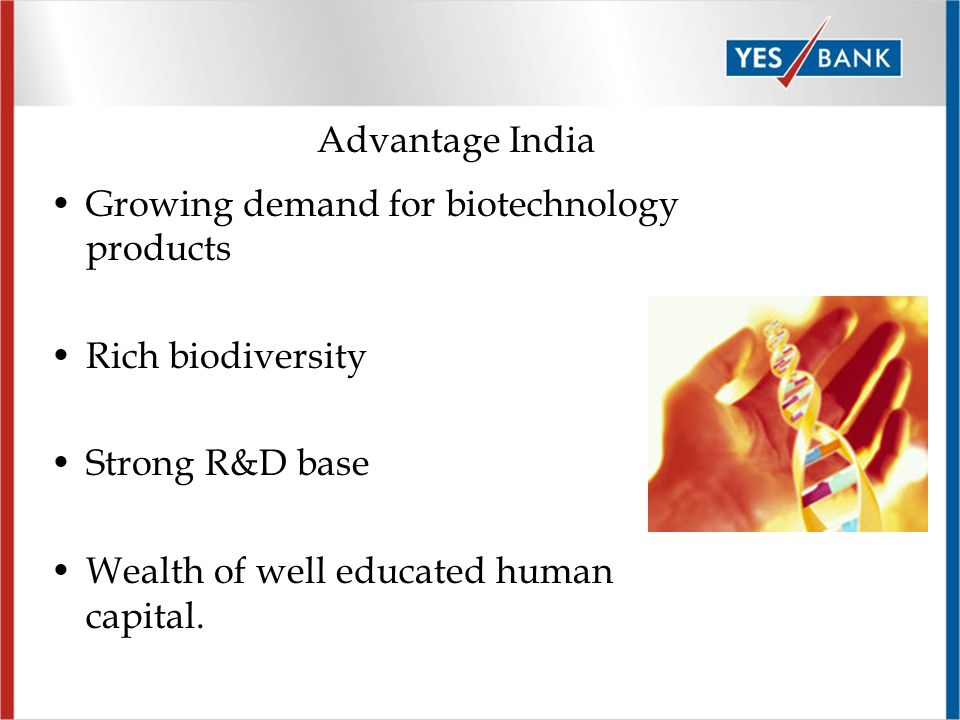 Page 20 Research & Development India is positioned to grow into a major R&D center for biotechnology companies on the basis of Low Cost Skilled Workforce