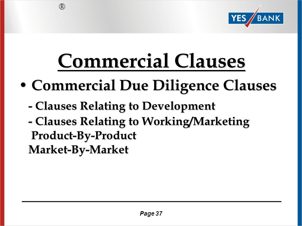 Page 36 Commercial & Financial Considerations of a Biotech/Pharma License Agreement Commercial & Financial Considerations of a Biotech/Pharma License Agreement ® ____________________________