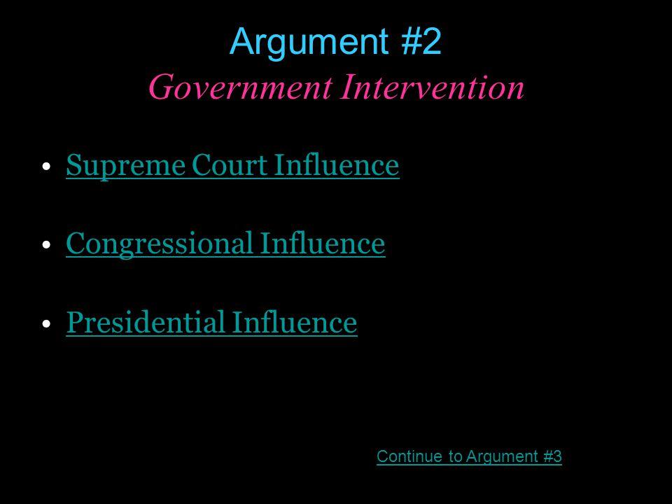 Supreme Court Influence Brown v.Board of Education (1954) Muir v.