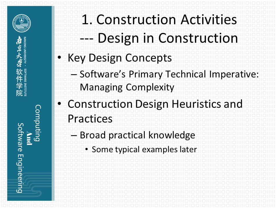 -7- Technology Waves Affect Construction Practices Effect of Technology Waves on Construction – Definition of technology wave Early-wave characteristics Mature-wave characteristics Late-wave characteristics – Construction is affected by technology— more than I thought (doh!) – Technology can be addressed in terms of general principles