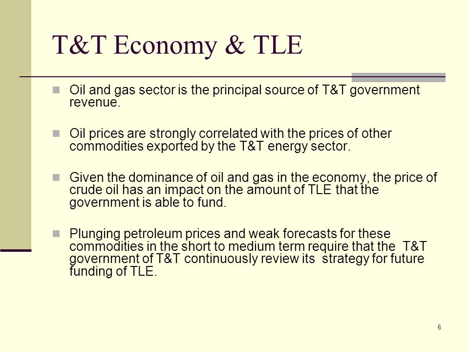 17 Graduate Tax All users of TLE pay for the service they receive.