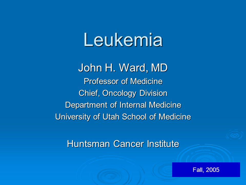 Leukemia John H.