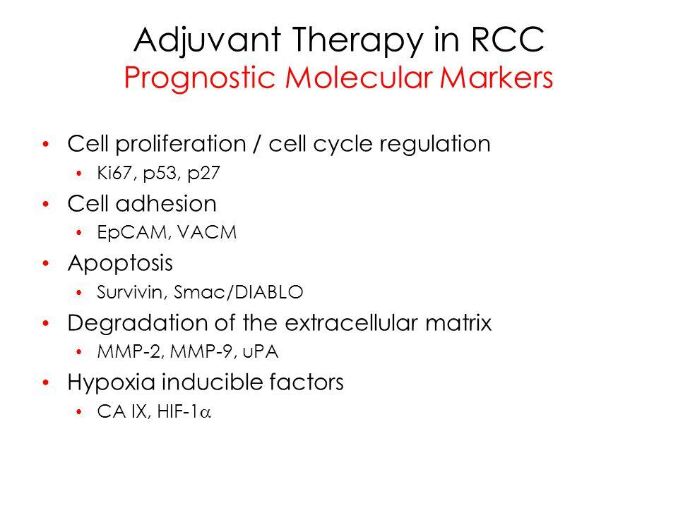 Molecular Markers Prognostic Model Kim HL Clin Cancer Res 10:5464, 2004