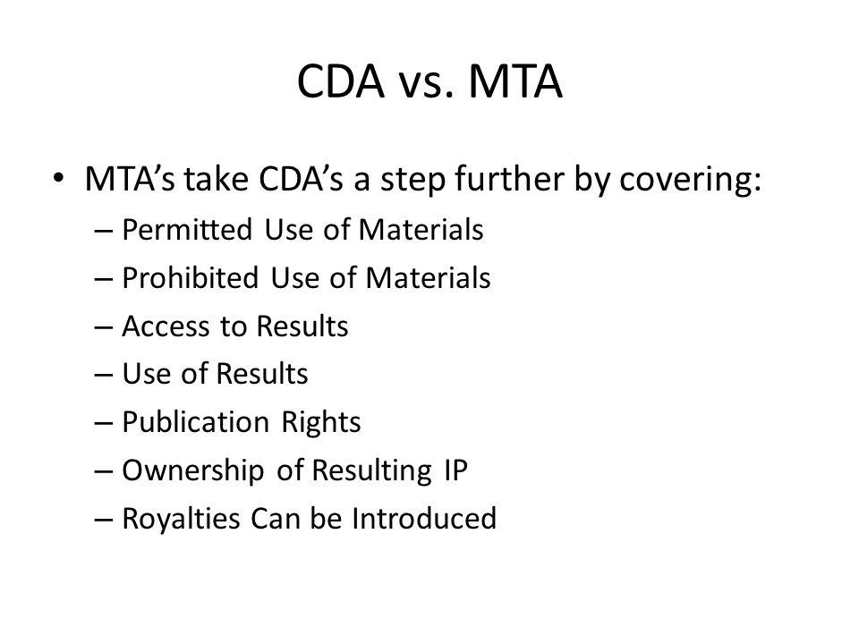 CDA vs.