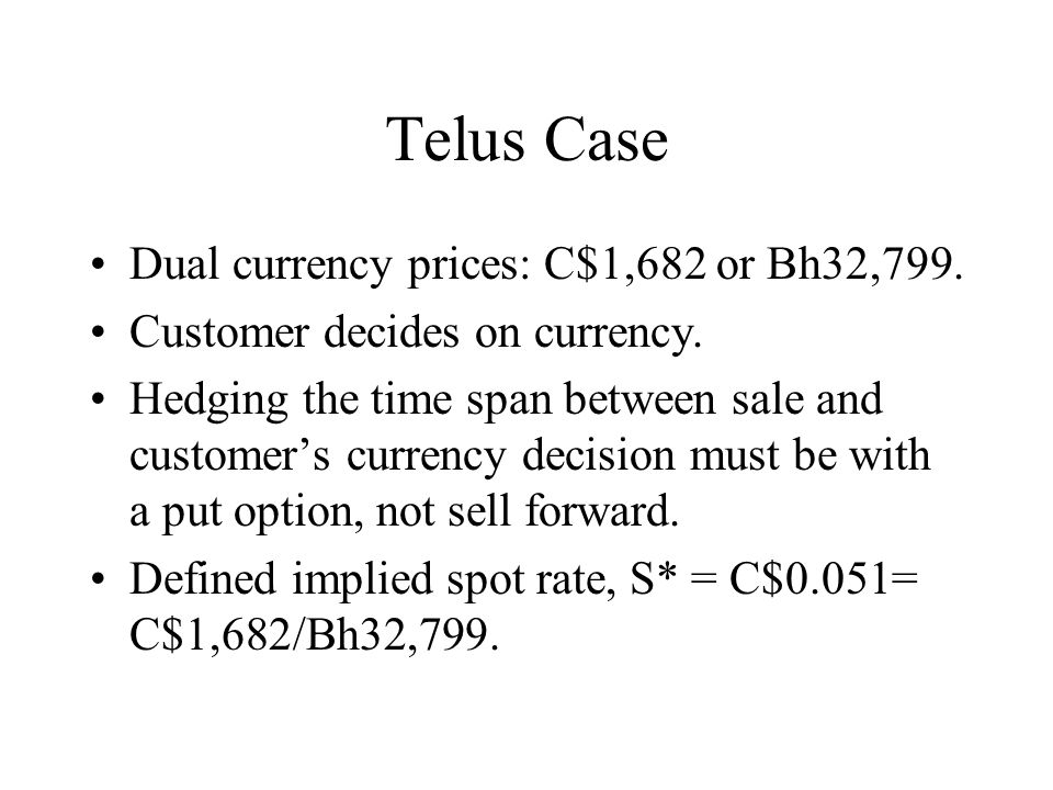 Telus Case Dual currency prices: C$1,682 or Bh32,799.