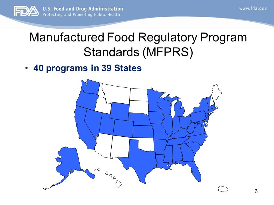 MFRPS-ISO and Sampling MFRPS-ISO and Sampling Agreements propel state food laboratory programs forward by supporting public health missions and response frameworks, harmonizing the direction of an integrated food safety system.