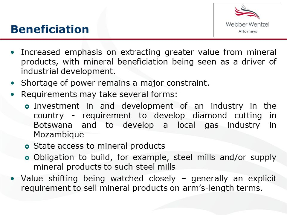 Conclusion Mining and resources projects certainly can be undertaken in Africa and undertaken well.