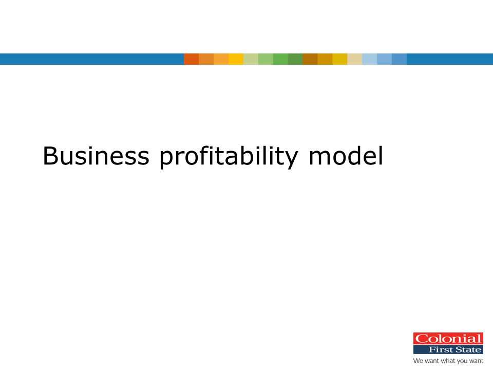 Business profitability model