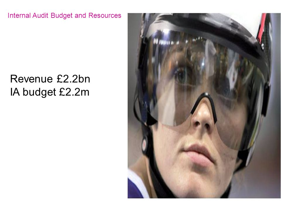 Internal Audit Budget and Resources Revenue £2.2bn IA budget £2.2m