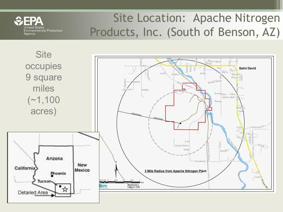 Site Location: Apache Nitrogen Products, Inc.