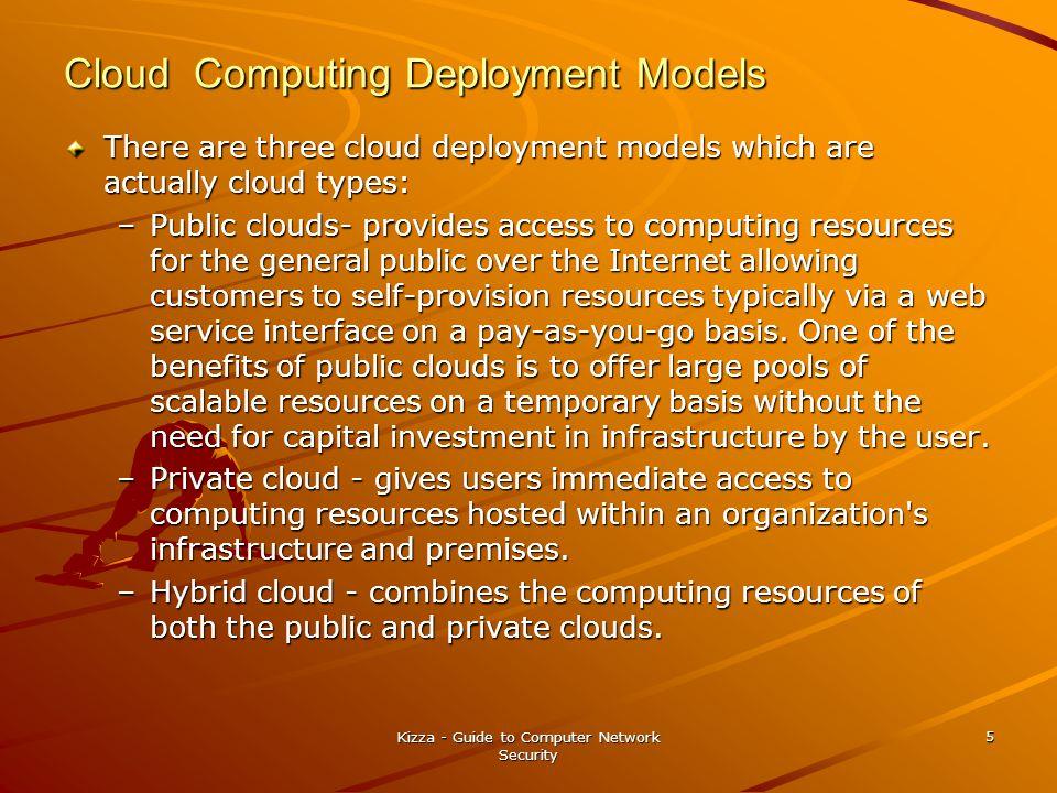 Virtualization and Cloud Computing Virtualization is a fundamental feature in cloud computing.