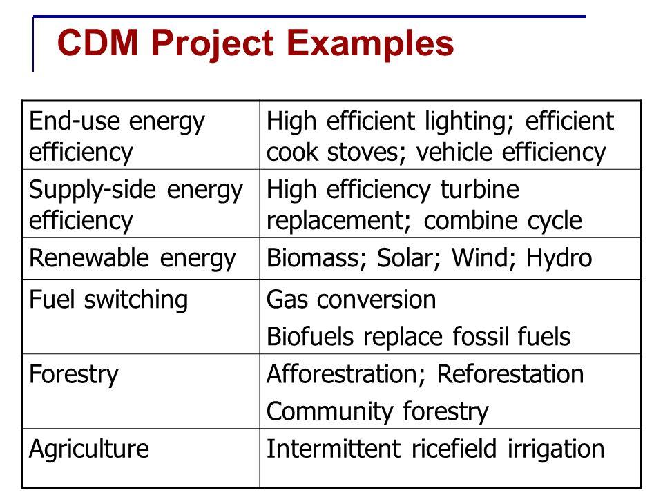 How does CDM work in practice?
