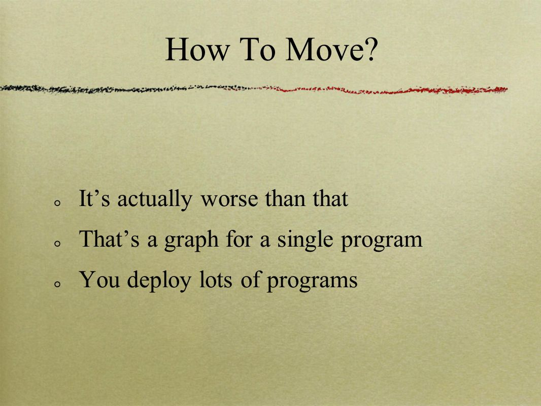 How To Move.