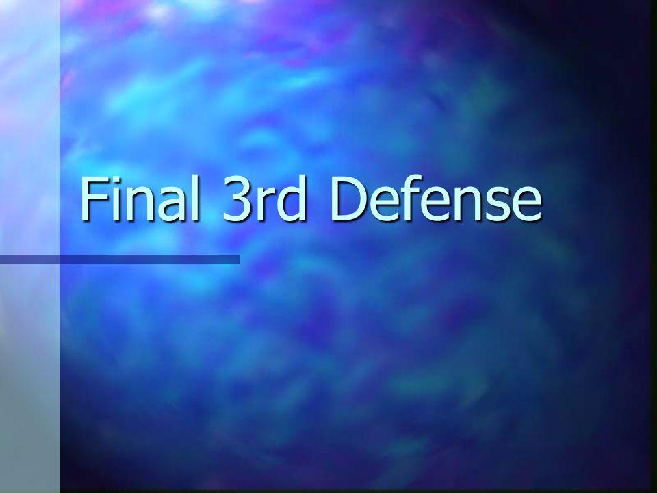Final 3rd Defense