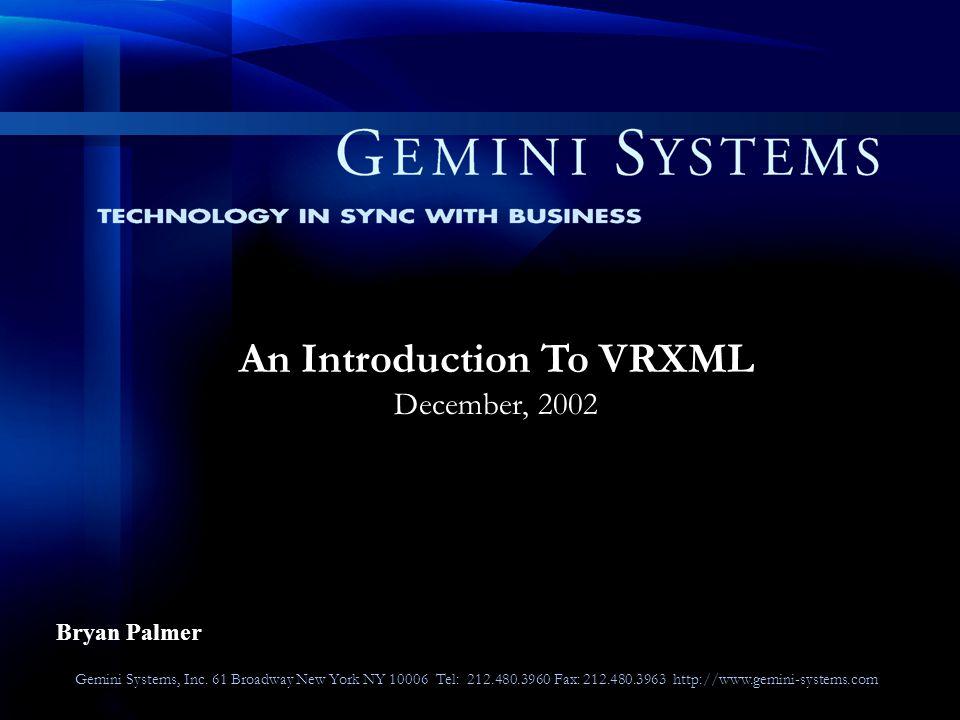 Gemini Systems, Inc.