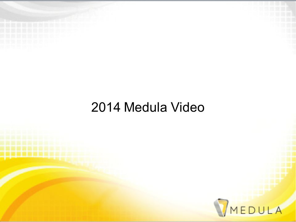 2014 Medula Video