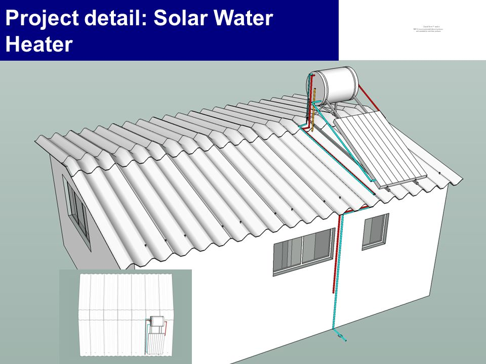 6 Project detail: Solar Water Heater