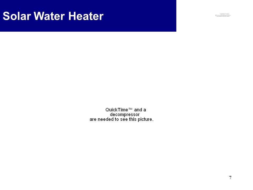 7 Solar Water Heater