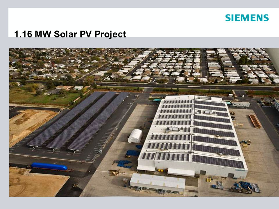 1.16 MW Solar PV Project