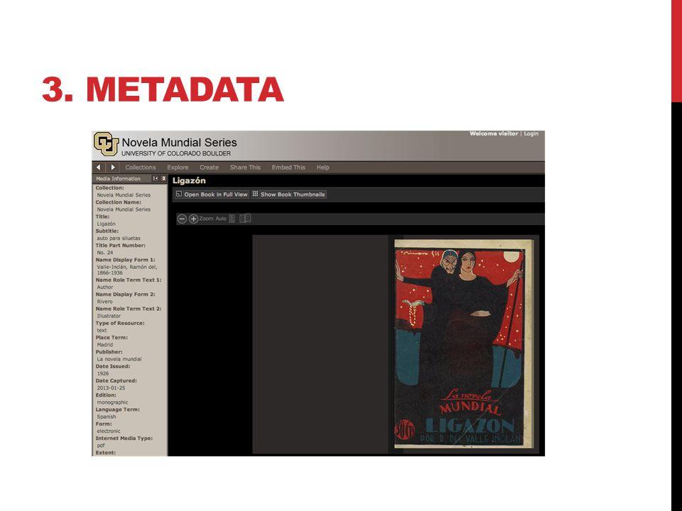 3. METADATA